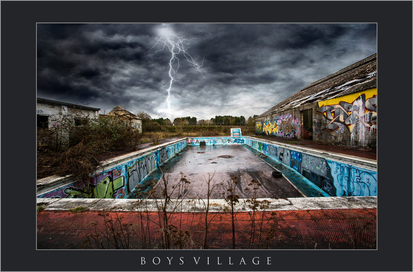 BOYS VILLAGE ABERTHAW; LANDSCAPE PHOTOGRAPHY IN WALES; BOYS VILLAGE PHOTOS; ABANDONED PLACES IN WALES.jpg