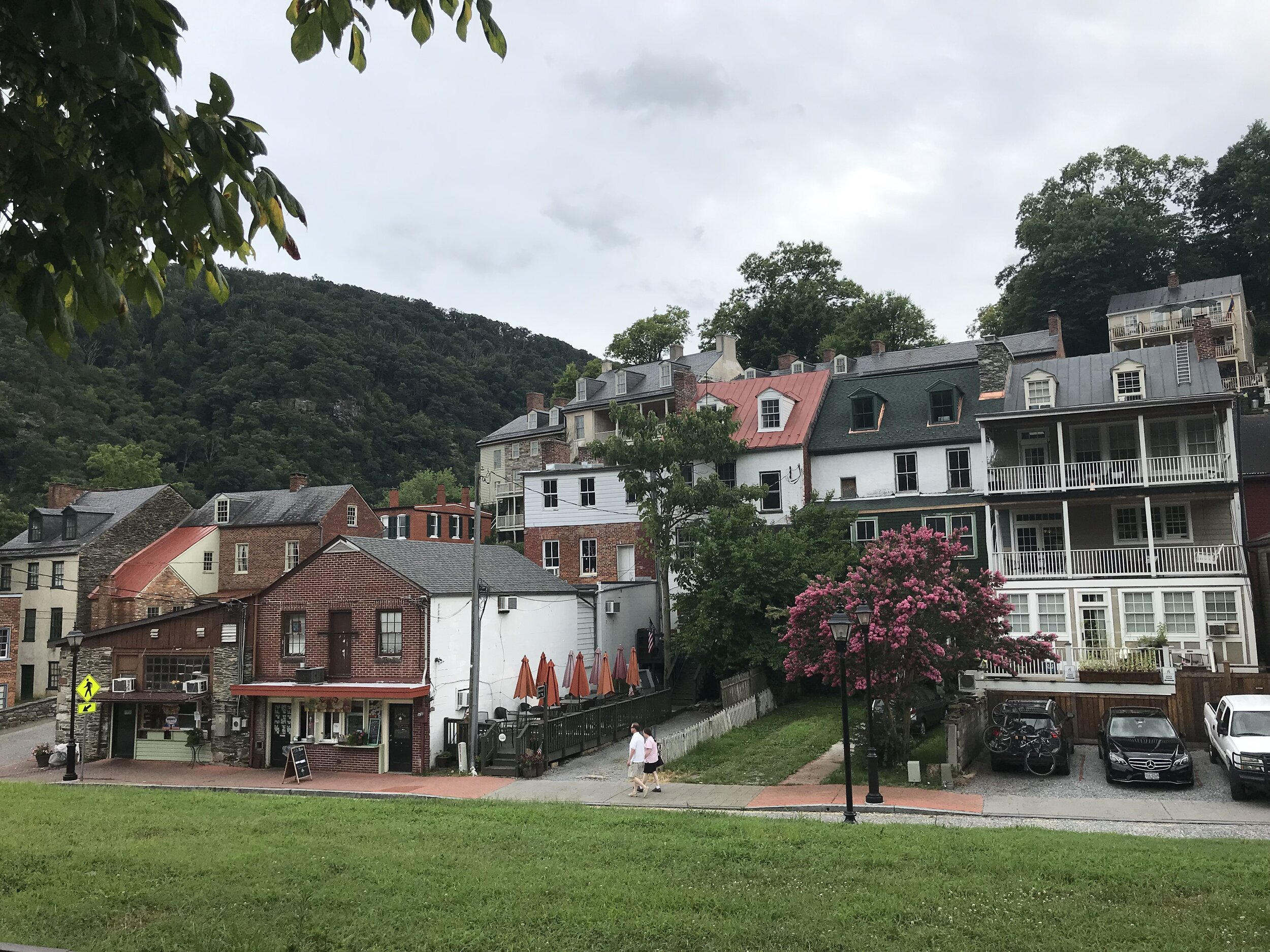 The A.T. goes right through the town of Harpers Ferry.