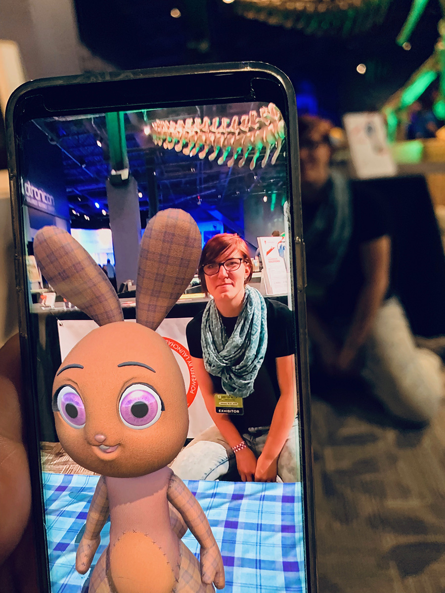 Kate Sims, Lead Game Designer for  Sarah Hoppits