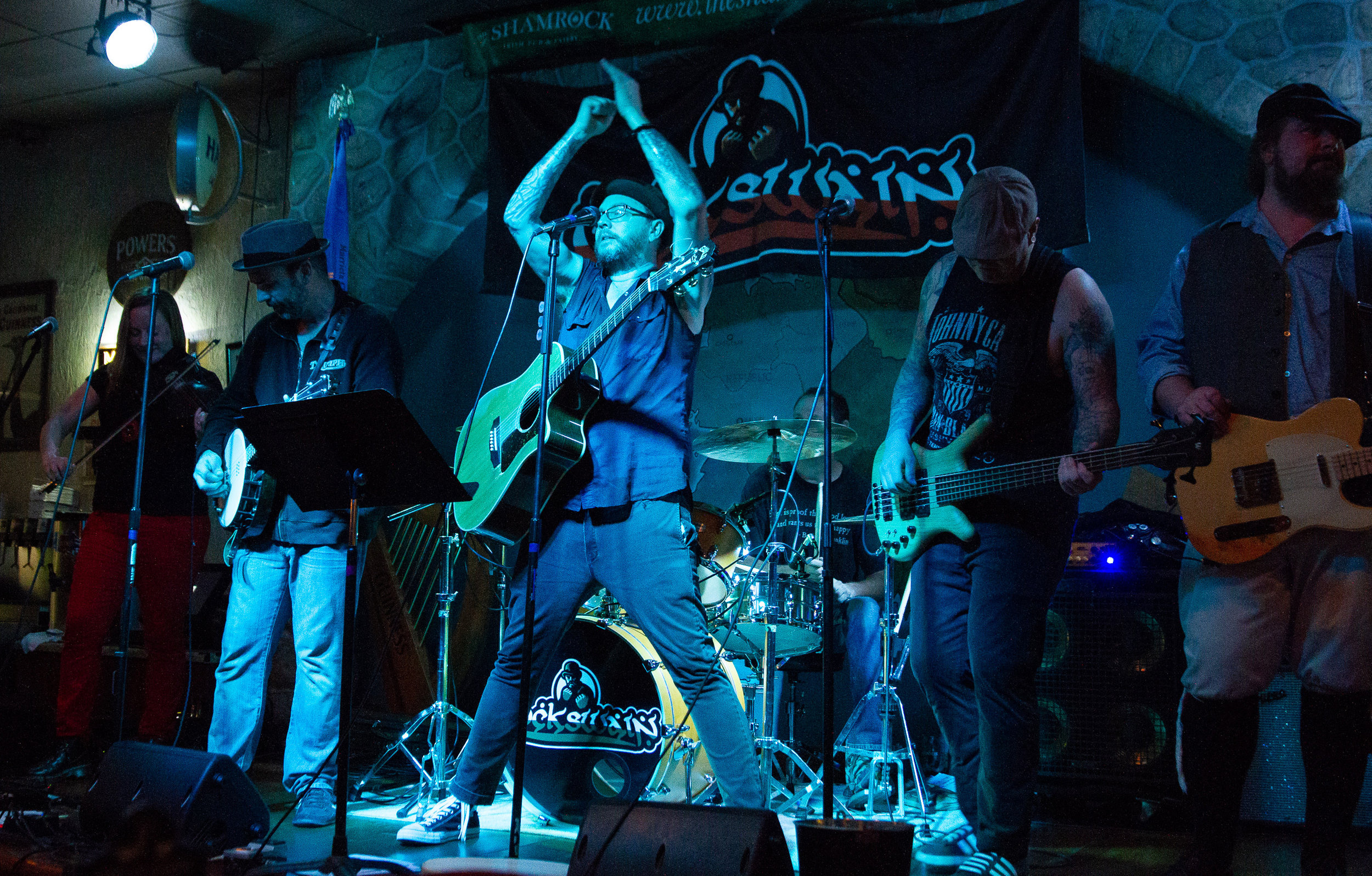 Cockswain - Official Website of Irish/Celtic Folk Punk Band