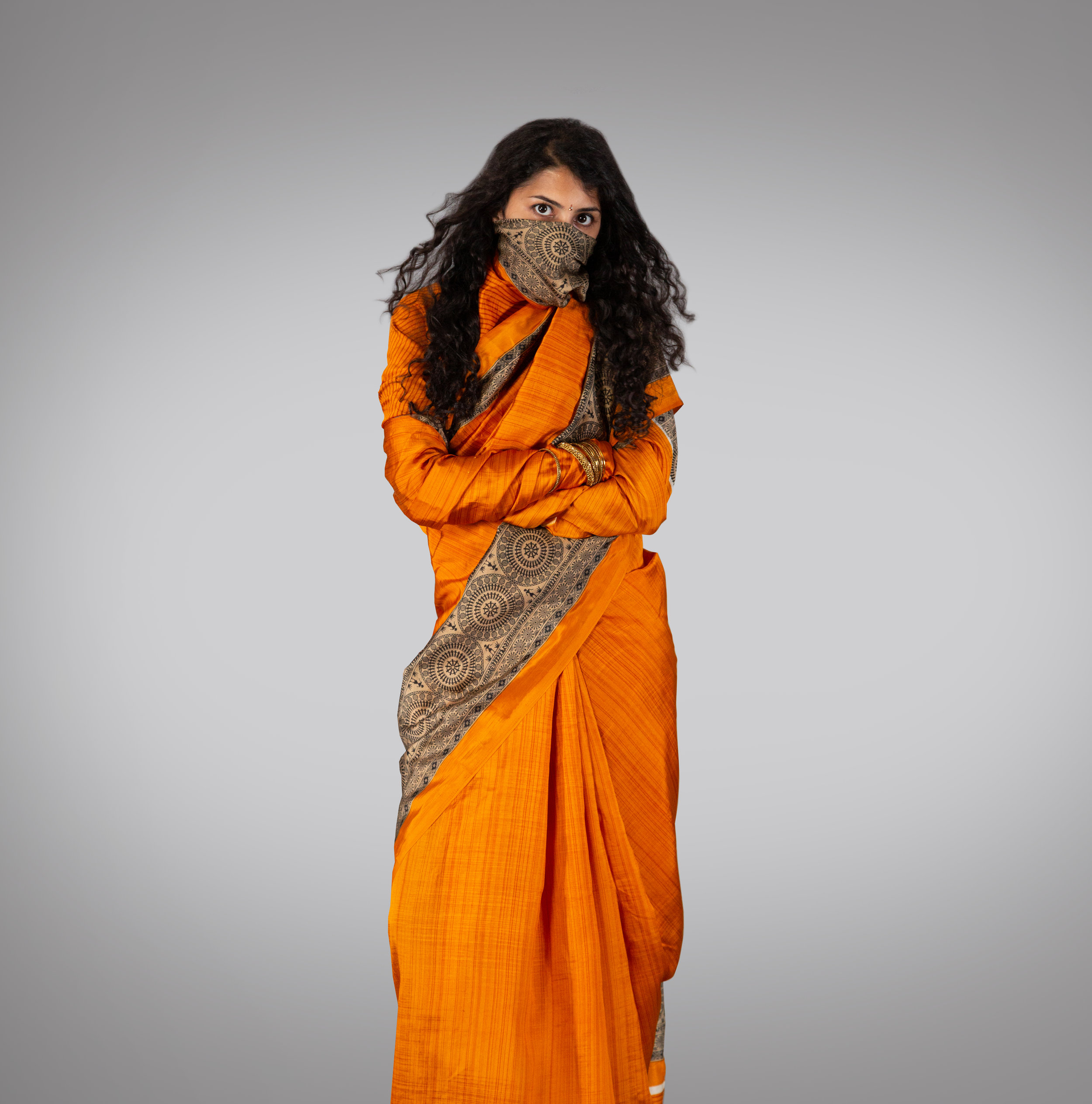 Sun-skari Beachwear Saree