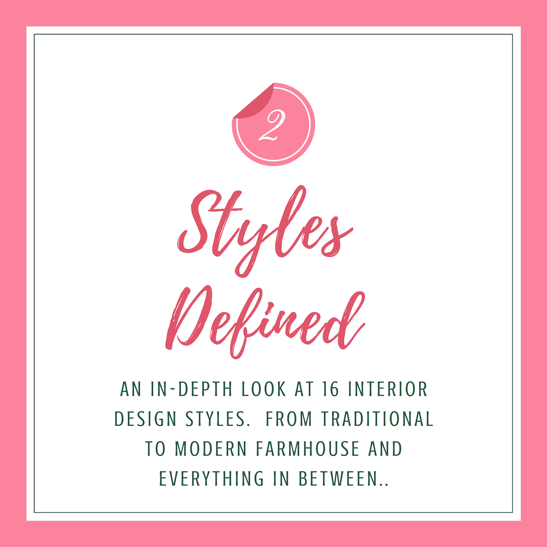 Styles Defined