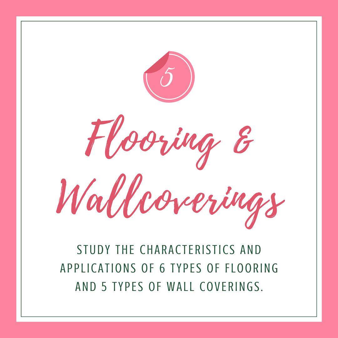 Flooring and wallcoverings