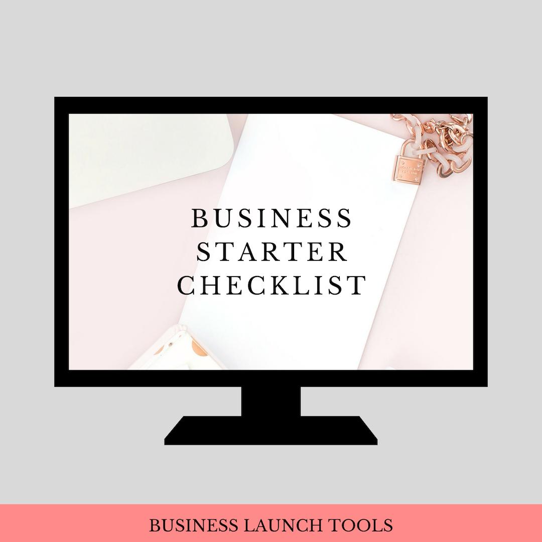 Business Starter Checklist