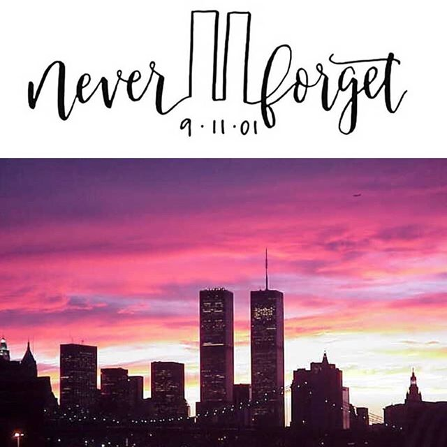 Never forget the victims, the tragedy, or how we came together.  United we stand. 📷 The Social Mashup  #neverforget911 #weremember #americathebeautiful #patriotday #unitedwestand #91101 #godblesstheusa