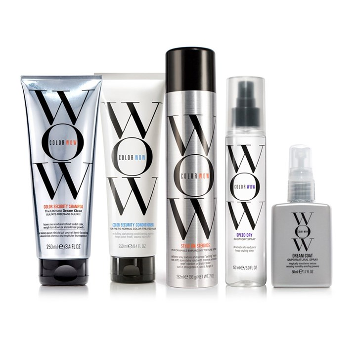 COLOR WOW - Get the best selling products for color-treated hair. Stop color from fading, cover roots, keep texture smooth and shiny, & prevent hair loss.