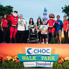 Disneyland Choc Walk, Sunday August 11th