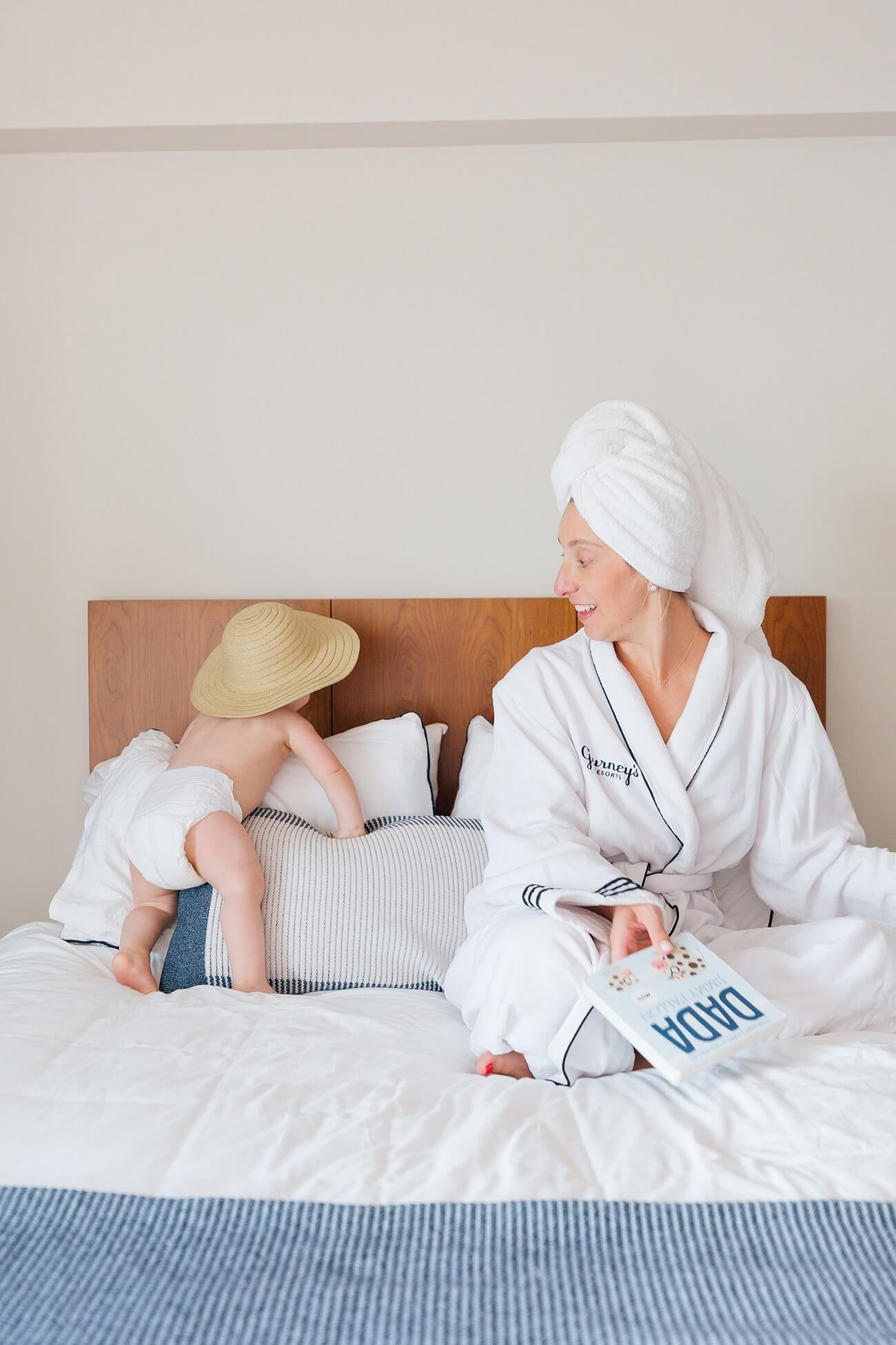 Baby proofing your hotel room or rental home is a must for traveling families.
