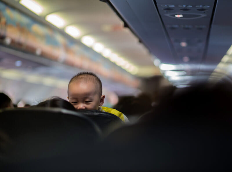 Traveling on a red-eye flight is challenging for anyone, babies and adults alike. There are some tips and gadgets that can help.