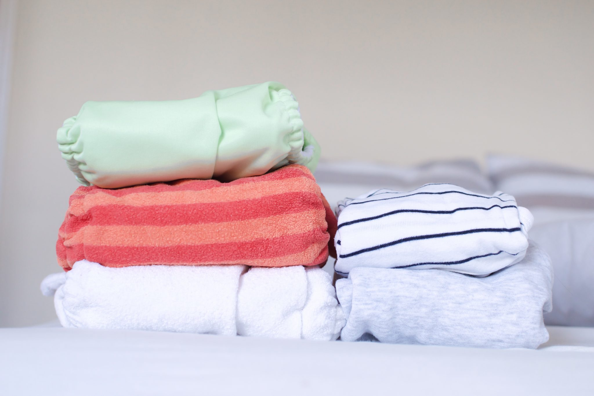 most people find success with fitted nappies and a waterproof wrap -