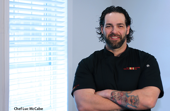 Chef Luc McCabe will be representing Cornwall – and Canada – at one-of-a-kind culinary event this summer. - Chef McCabe to Add Canadian Flavour to International Culinary Event