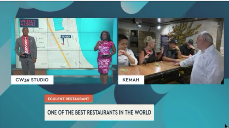 'Around the World in 10,000 Bites' culinary experience of a lifetime - Eculent is bringing Kemah residents a dining experience unlike any you can imagine— it's the perfect setting for a culinary showcase!