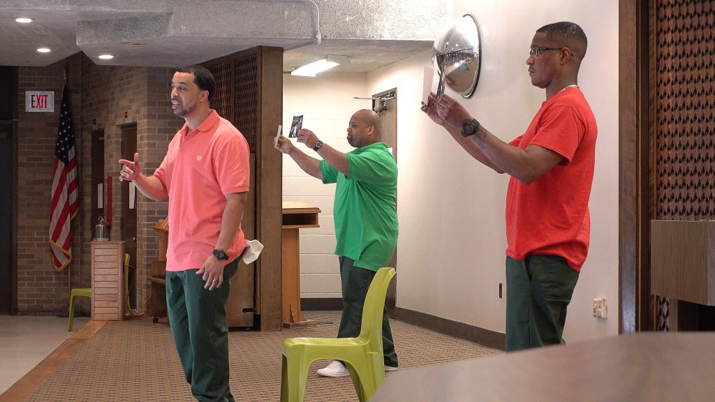 Demetrius, Robert, and Sheldon perform in  The Strength of Our Convictions: The Auburn Redemption  on May 24, 2018.