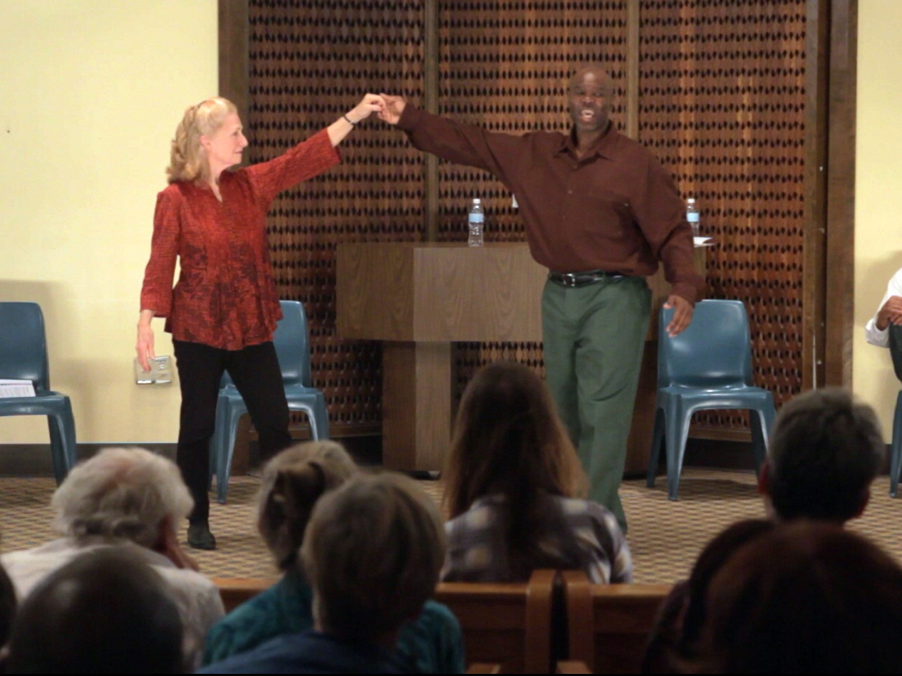 Judy Levitt and Michael Rhynes dance in   Maximum Will  .