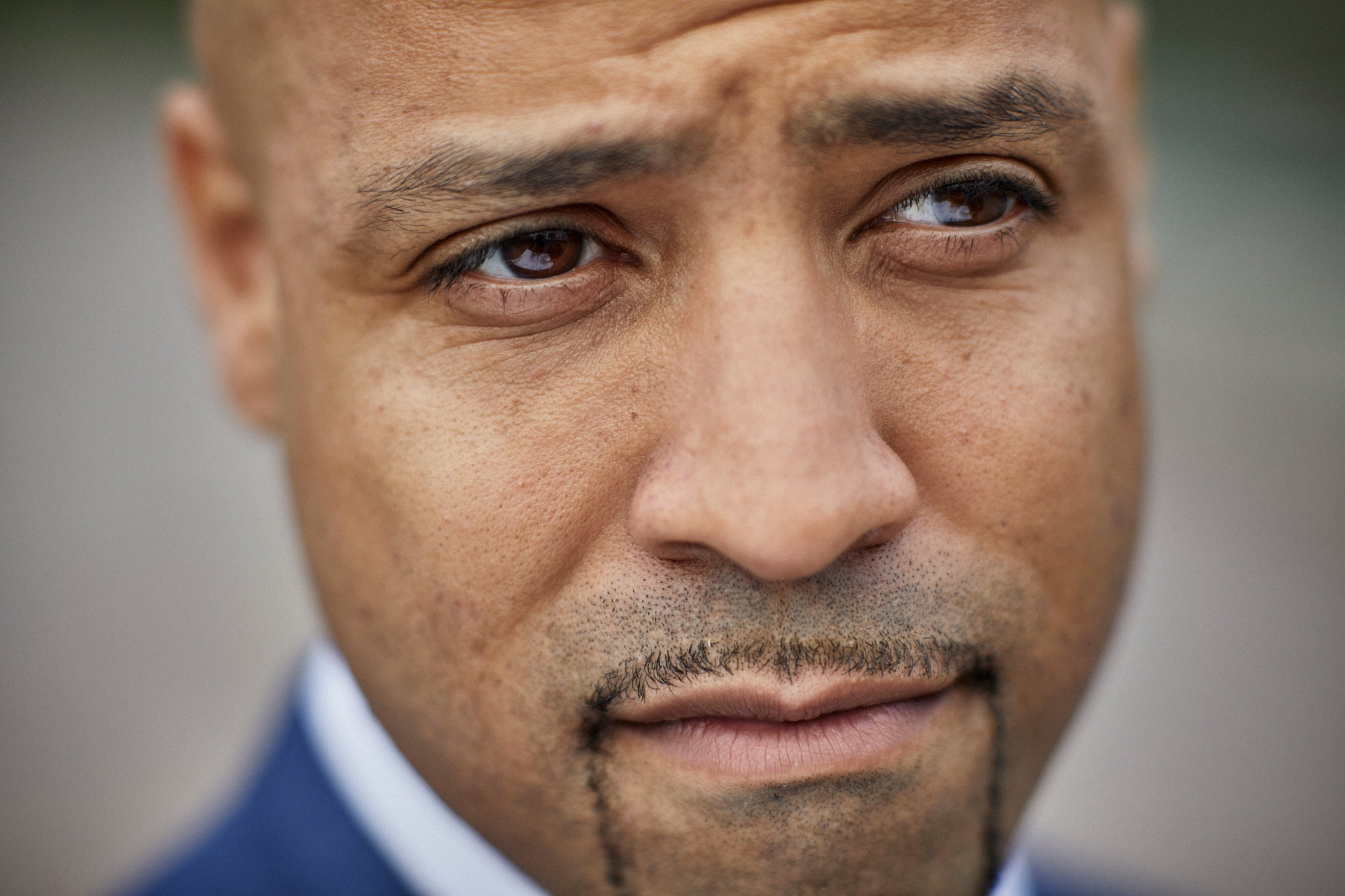Darryl Epps, the author's brother, is now making his mark in the Justice-in-Education program at Columbia University. Credit: Chad Batka for The New York Times
