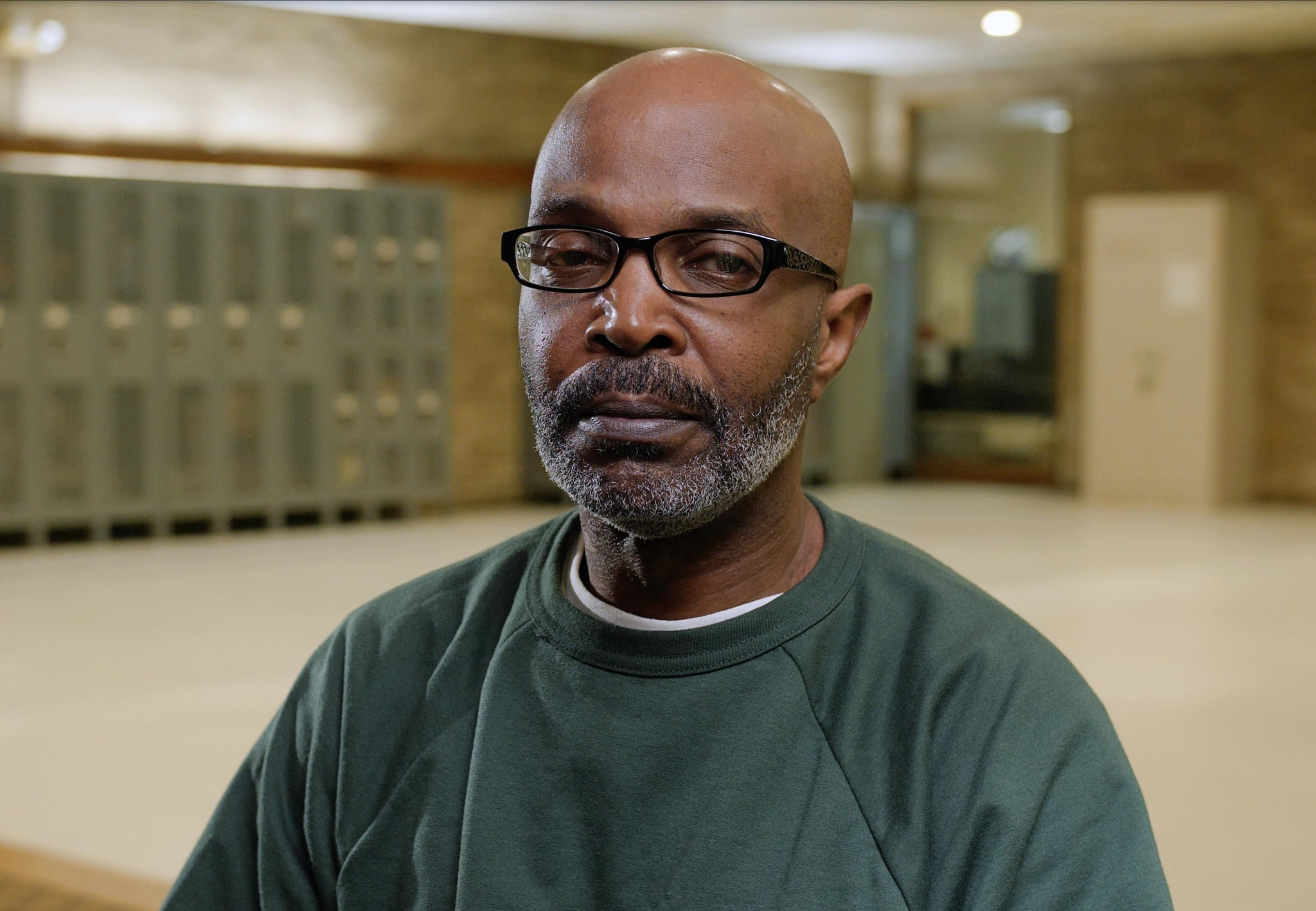 Mark Thompson, 62, has served 38 years at the Auburn Correctional Facility. Credit: Peter Carroll