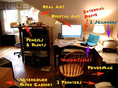 the digital studio desk