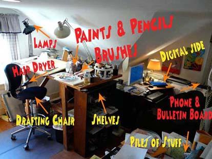 the real materials studio desk