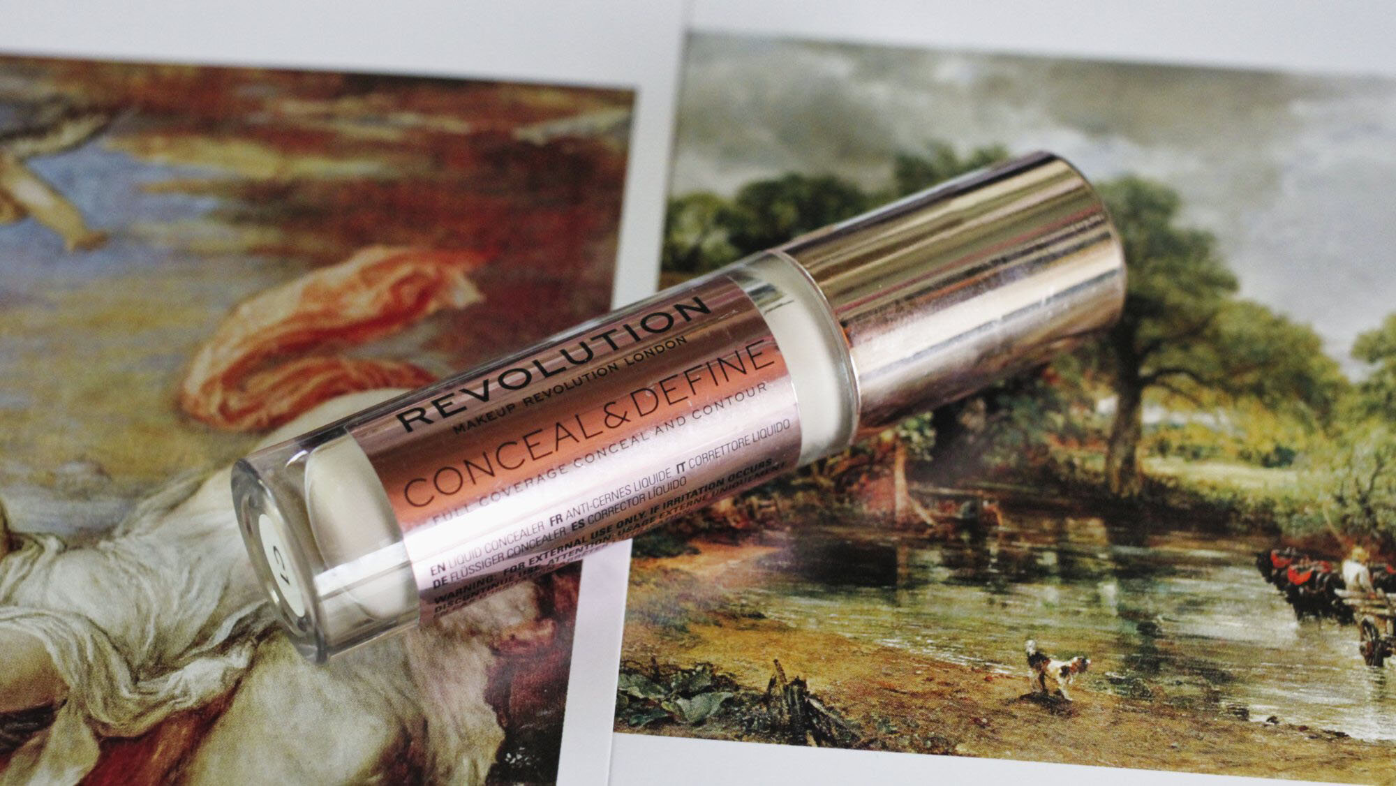 makeup revolution conceal and define concealer C1