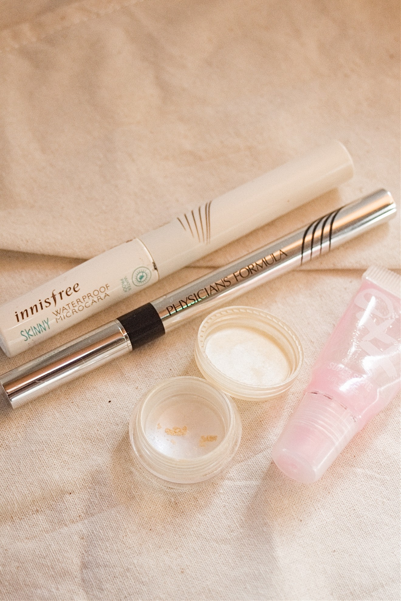 makeup beauty product review empties