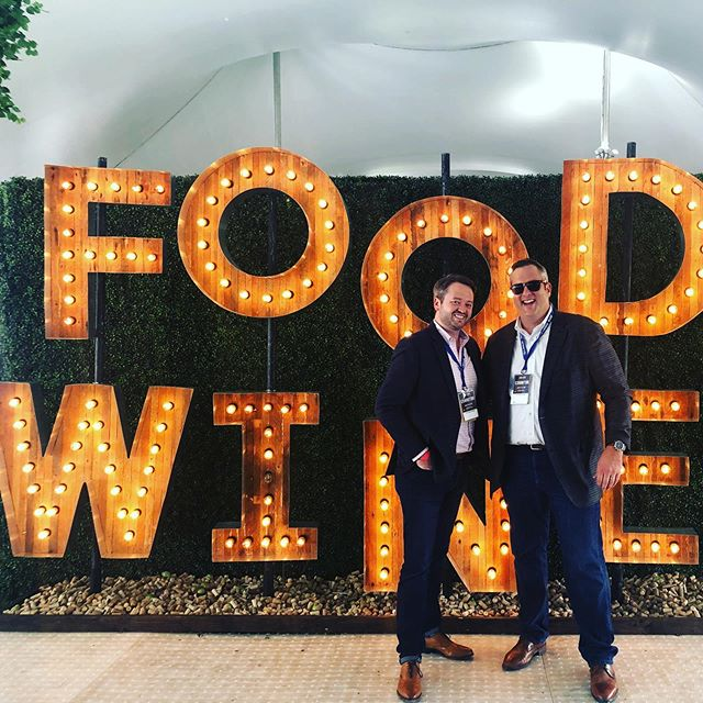 We're having a blast launching the portfolio at #aspenfoodandwine. Come by the tasting table at the Grand Tasting today if you want to try some of our brands! #aspen #foodandwine #vinfraîche #drinkfraîche