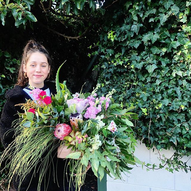 We are super stoked to have Millie join the Abaca team. She makes bomb flowers. 💥