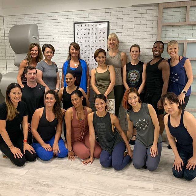 Coming back from holidays to my #flexfamily and having Blossom @bridgepilates with us for 3 days it's been a treat to my soul. Her sense of humor and love for what she does it's so contagious!!! Can't wait to try the new excercises I learned! . . . . . . . . . . . #flexstudioshk #hongkong #Pilates #classicalpilates #pilateslover #reformer #Motivation #love #matpilates #contrology
