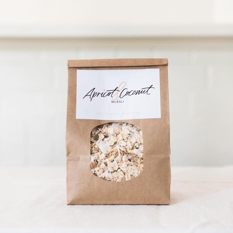 Apricot and Coconut Muesli