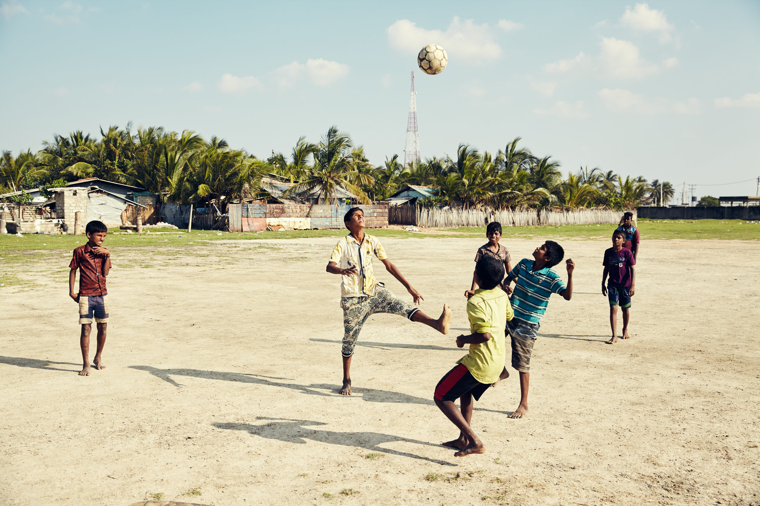 The Beautiful Game - Soccer has the power to unite people, awaken self-worth and help children cope with hardship and loss. It can empower big dreams and give the next generation a reason to pursue a more beautiful life and world.