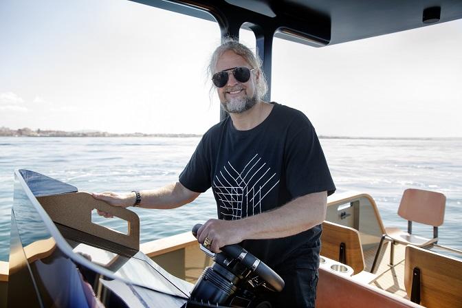 Konrad Bergström, X Shore's founder