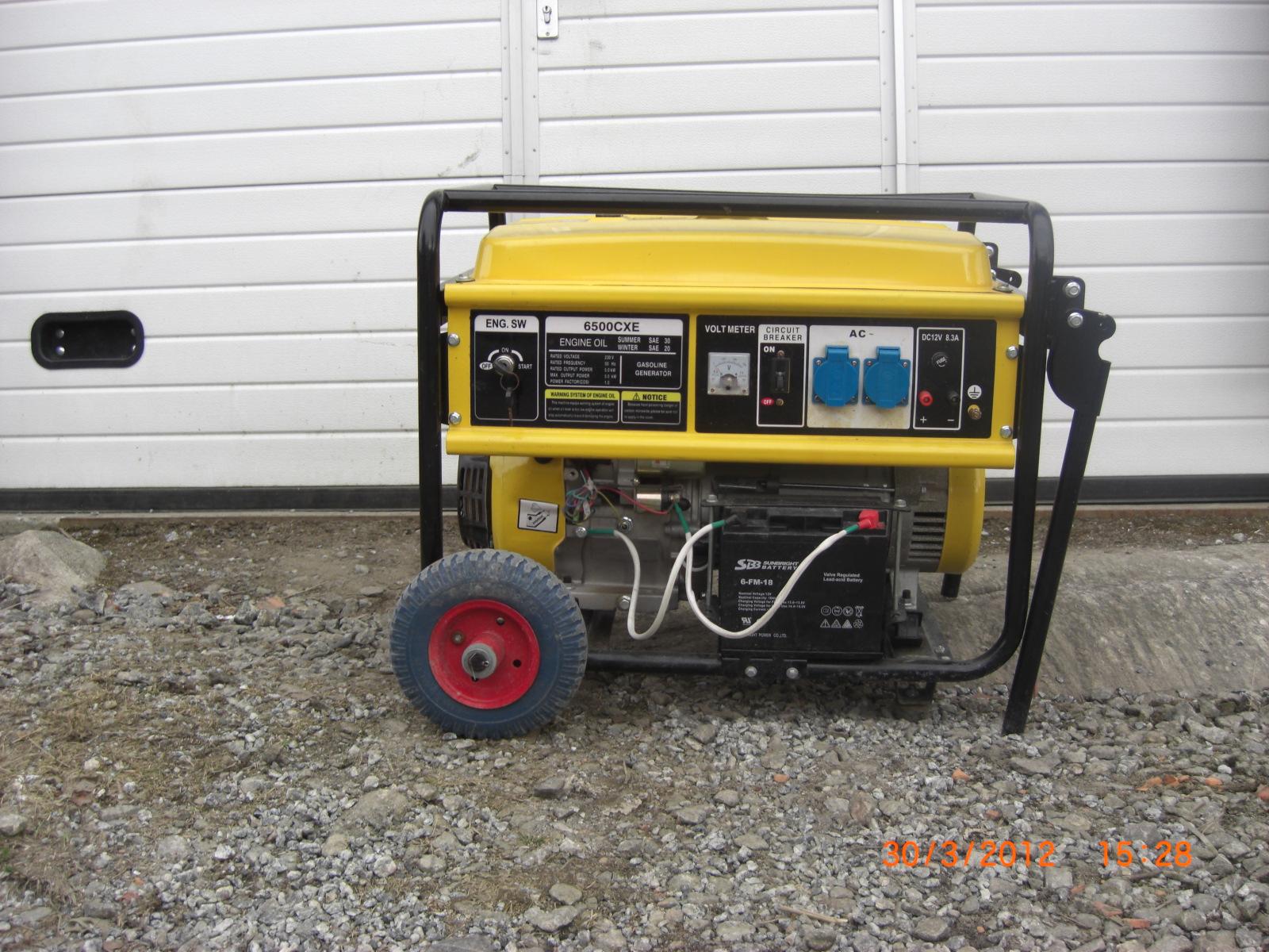 Strømaggregat - Ikke strøm på byggeplassen?Vi har løsningen!
