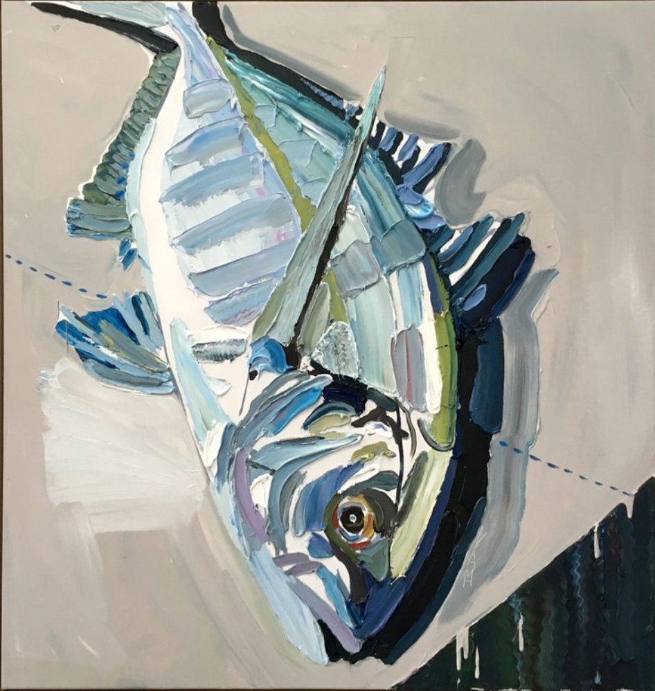 'Silver Trevally' SOLD