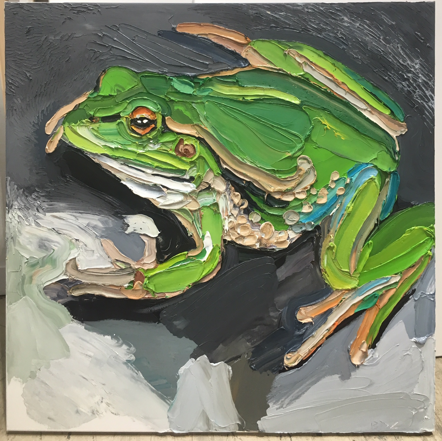 'Growling Grass Frog' SOLD