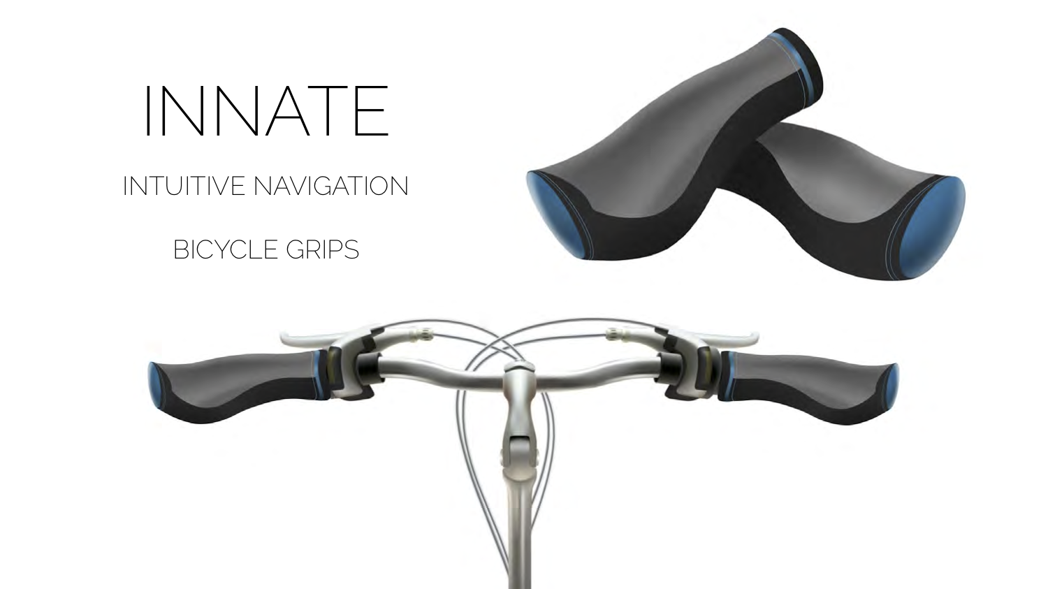 "3 - As of July 1st 2019, Amsterdam has officially banned the use mobile phones while biking. How then do we use navigation safely while biking? Dhaval, an industrial designer proposed a hands free solution titled ""INNATE"" an Intuitive Navigation System for bike grips to connect your favorite Map app and guide you safely through the city via haptics and signals built into your handlebars!"