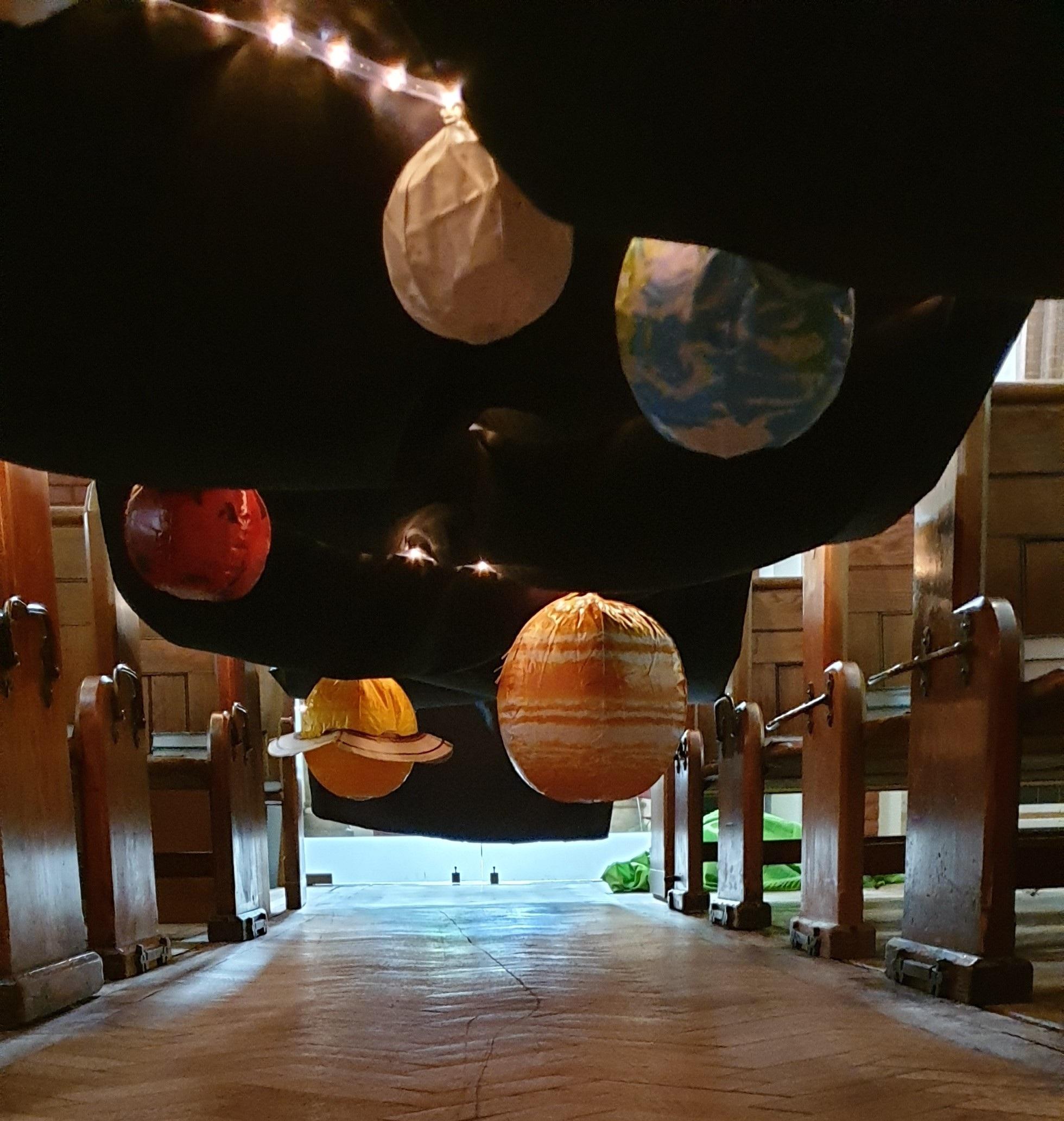 God's Creation Story (Day 4, Sun, Moon & Stars)
