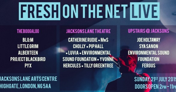 Happening this Sunday!! Am far far too excited 🤗 #FreshOnTheNetLive FREE new music festival on Sunday 21st July (2PM - 11PM). 16 upcoming bands & artists playing in 3 spaces in @jacksons_lane & @TheBoogaloo in Highgate. freshonthenet.co.uk/2019/07/live-j… #Indie #AltPop #Urban #folk