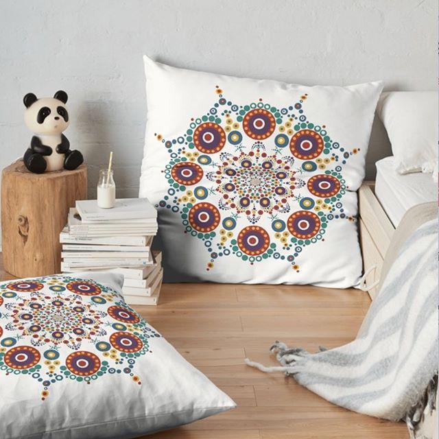 A little bit of healing and a lot of style!  Embrace hygge lifestyle.  #mandala #floorpillows #homedecor #hyggelife #artistsoninstagram #redbubbleartists #redbubble #localartist #dotitup #dotmandala⠀ ⠀ https://www.redbubble.com/people/legacyholistic/works/35707045-hygge-mandala-121418?asc=u&carousel_pos=2&p=floor-pillow&ref=portfolio_product_carousel&ref_id=35633090