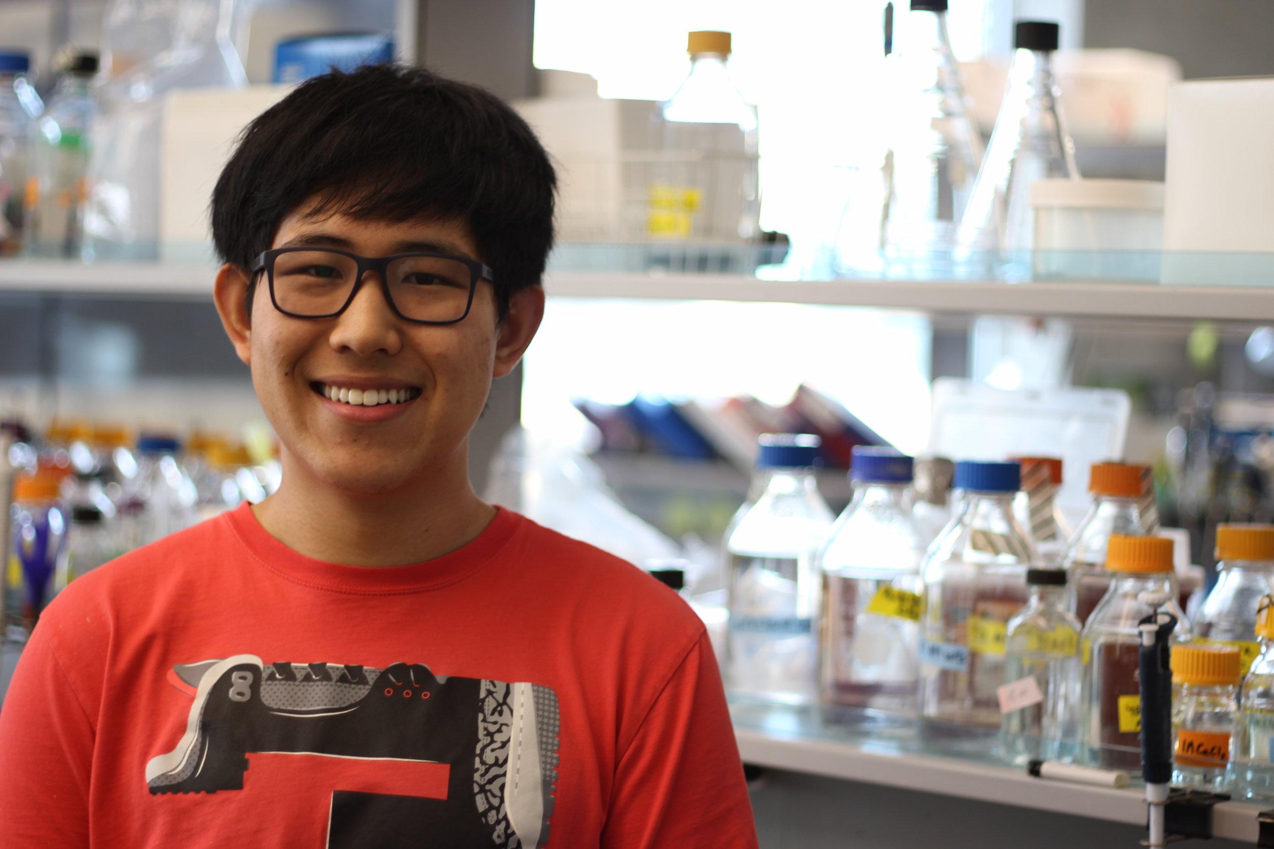Tian Hao Zhu - Undergraduate Student