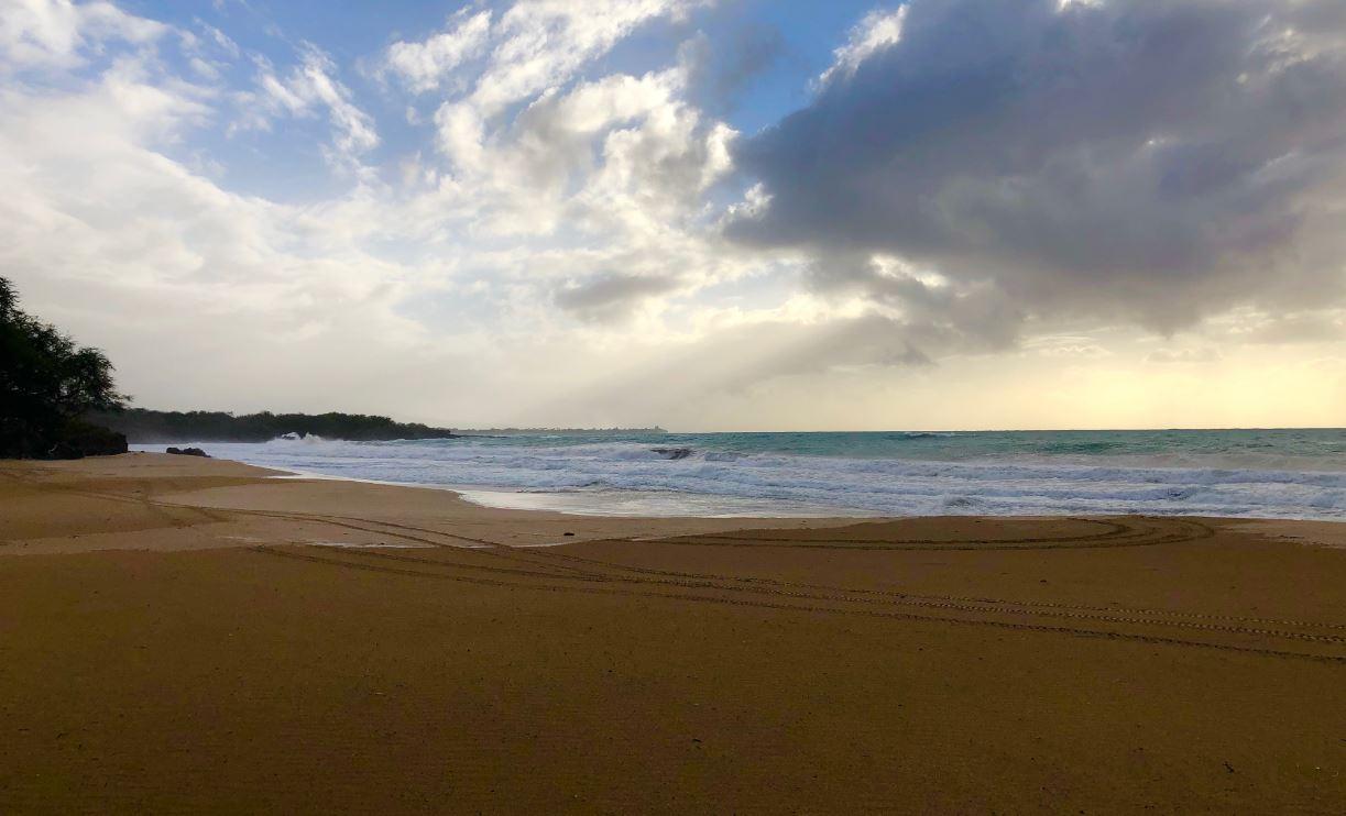 Sunset at Hapuna Beach