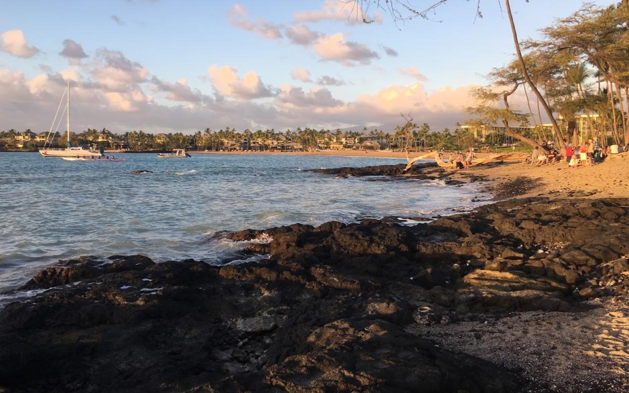 sunset on big island hawaii