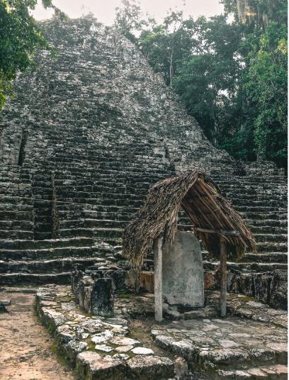 mayan pyramids in mexico