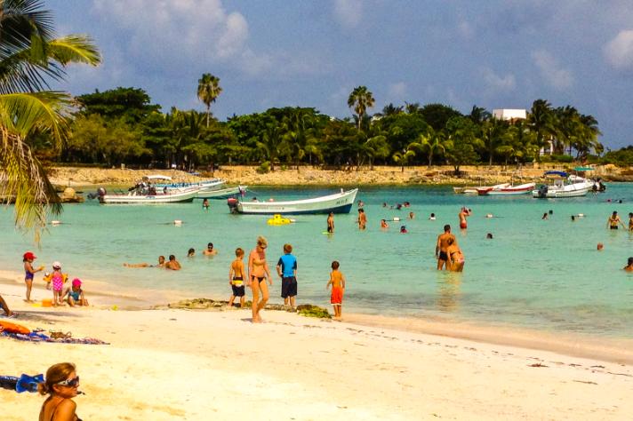 beaches at playa del carmen
