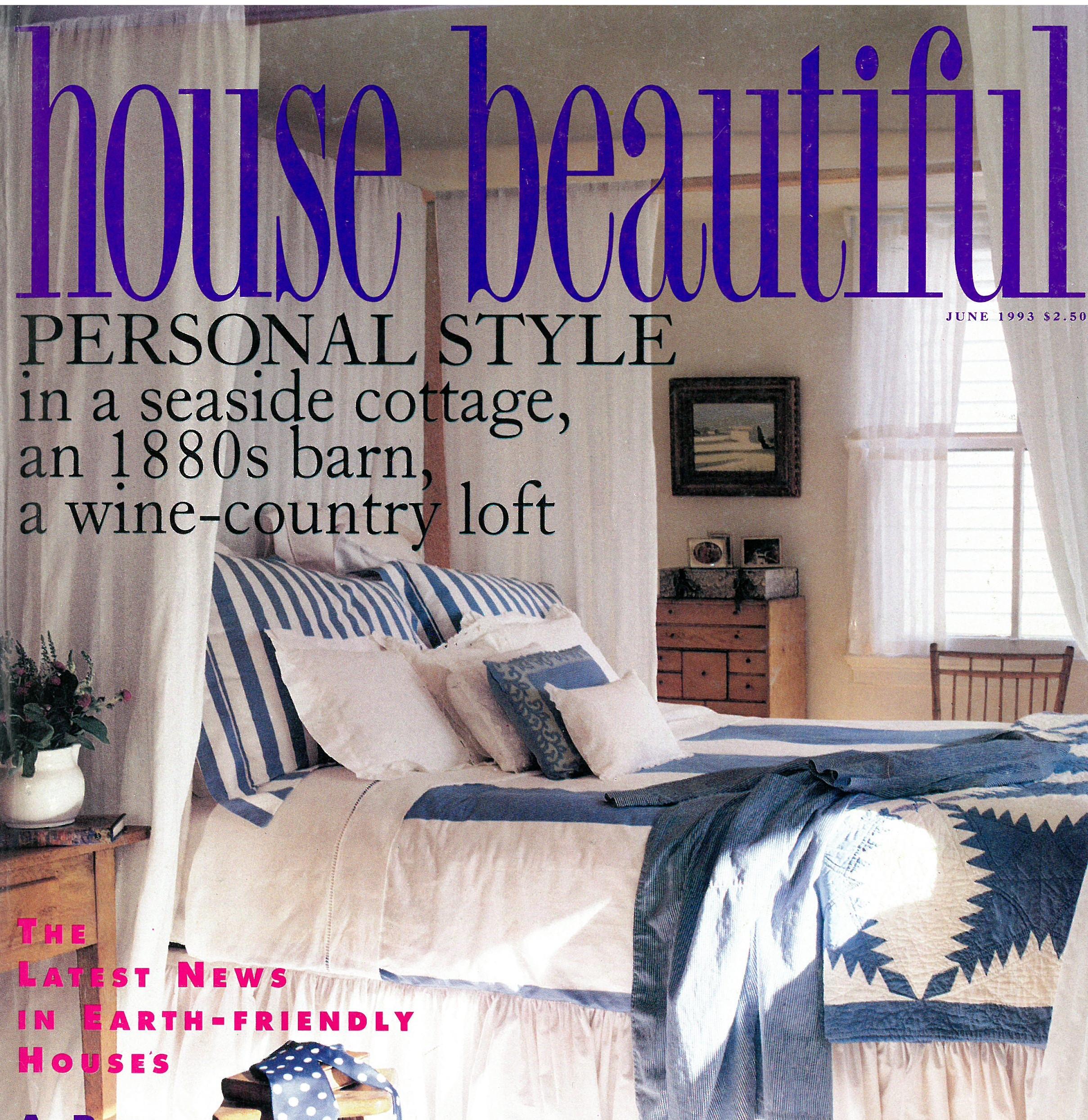 House Beautiful June 1993