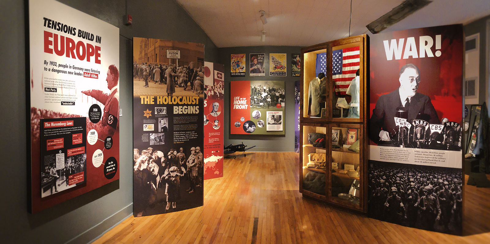 WWII Exhibit Panorama