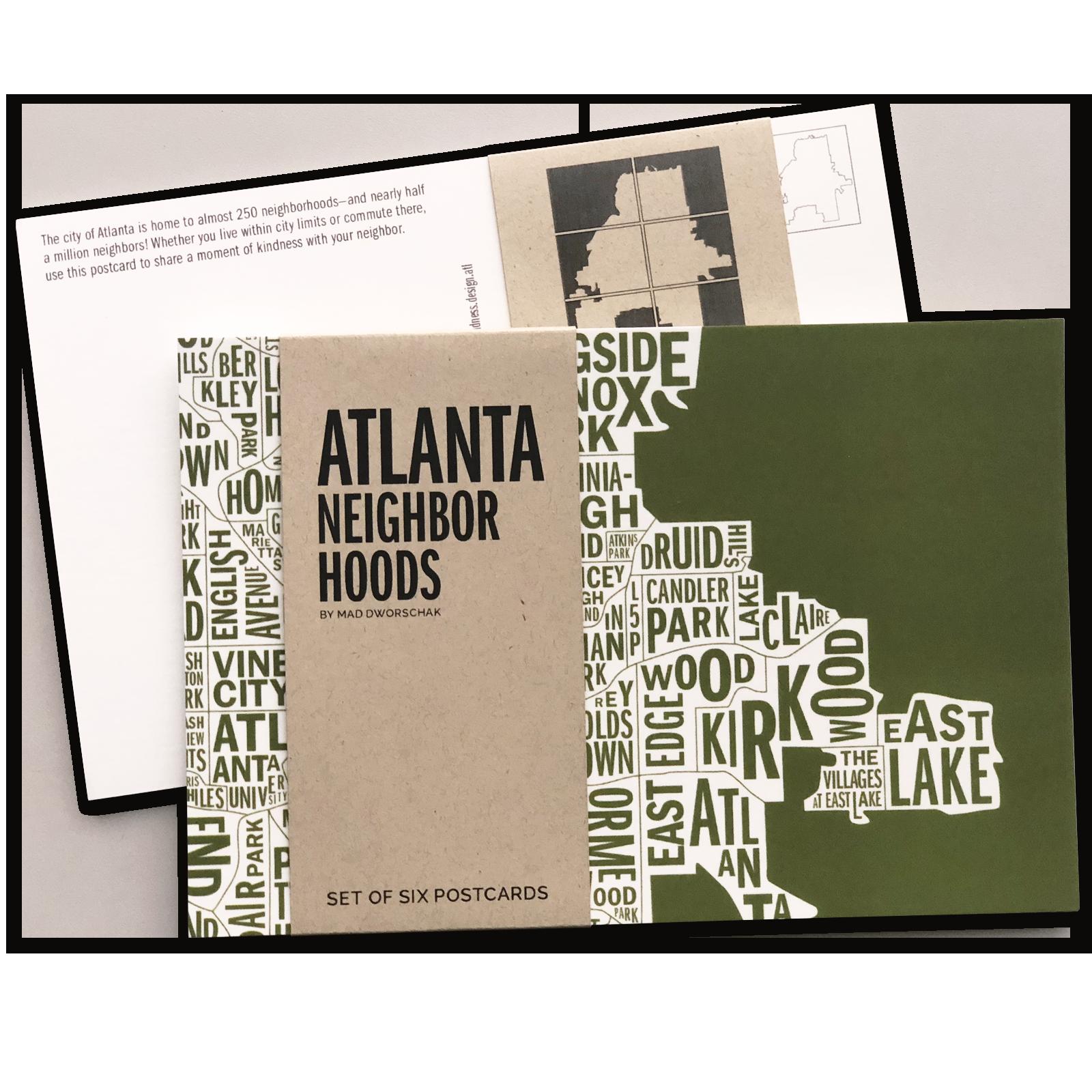 Atlanta Postcards -