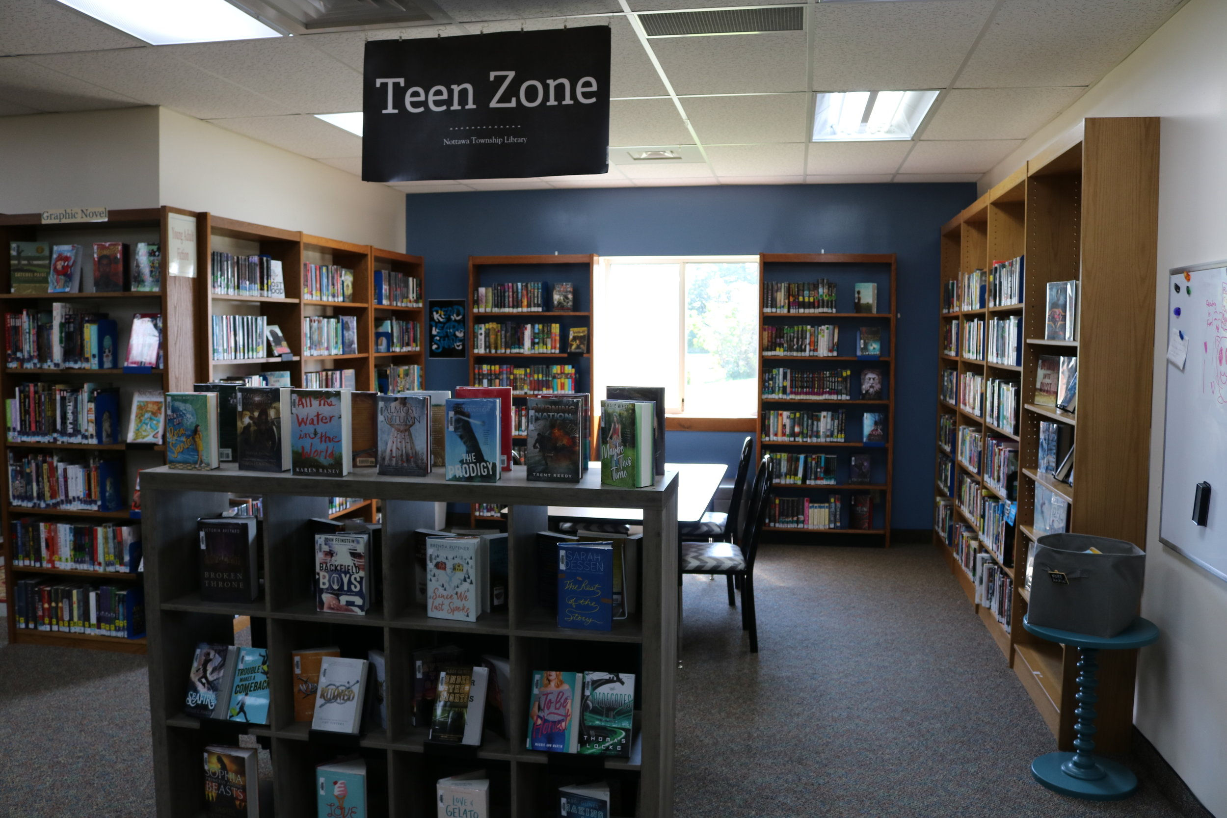 Nottawa Library Teen Zone.JPG