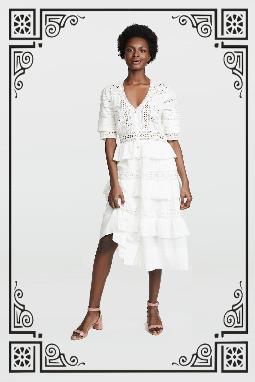 LOVESHACKFANCY Rebecca Dress ($365)