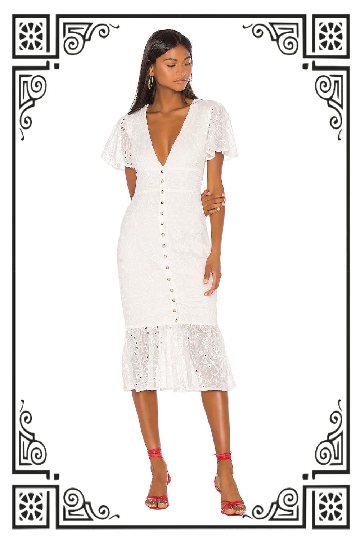 Song of Style Mylan Midi Dress ($278)