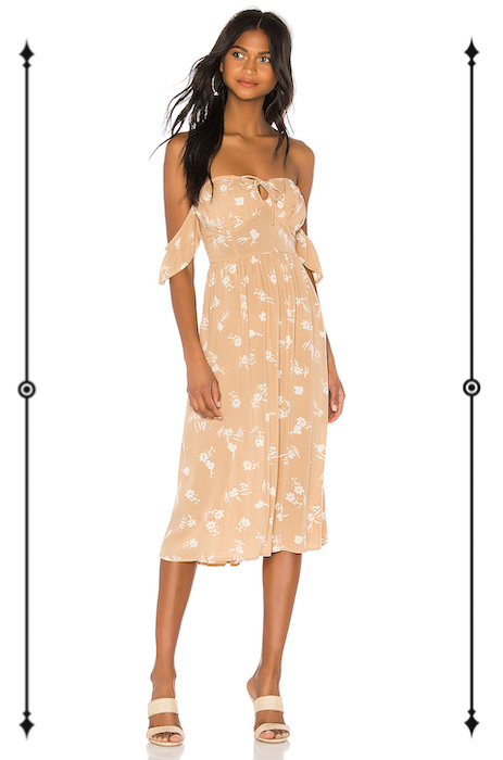 Amuse Society Regency Midi Dress  ($75)