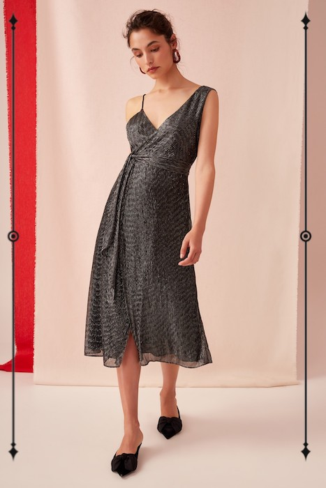Keepsake Now And Then Midi Dress  ($57, on sale from $190)